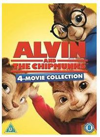 Alvin and the Chipmunks 1-4 (DVD)