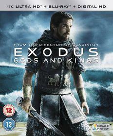 Exodus - Gods and Kings (4K Blu-ray)