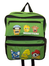 Parco Kiddy Monster Backpack - Green