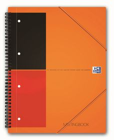 Oxford International A5 Ruled Meeting Book