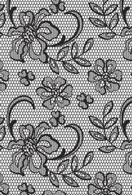 Kaisercraft Background Floral Lace Clear Stamp
