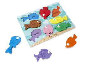 Melissa & Doug Chunky Colourful Fish