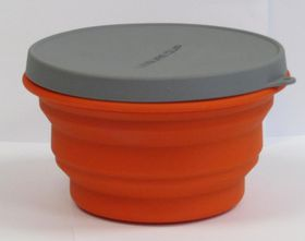 LeisureQuip - Foldaway Silicone Container with Lid - 300ml