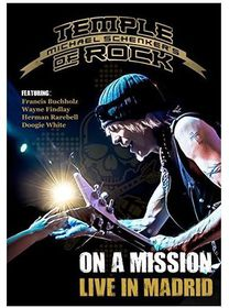 Michael Schenker's Temple of Rock: On a Mission - Live in Madrid (DVD)