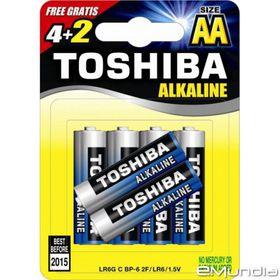 Toshiba Alkaline AA Batteries