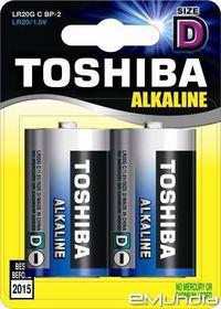 Toshiba Alkaline D Batteries