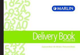 Marlin A6L Duplicate Pen Carbon Book - Delivery