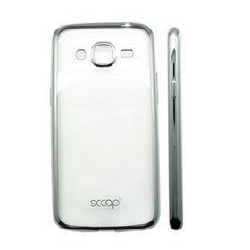 Scoop Lunar Case for Samsung J2 - Silver