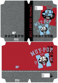 MUY POP Boy A4 Precut Book Covers - 5 Per Pack - 2 Designs