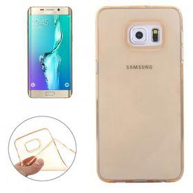 Tuff-Luv TPU Silicone Jelly Case Cover for Samsung Galaxy S6 Edge Plus - Copper