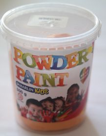 Marlin Kids Powder Paint 500g Bucket - Orange