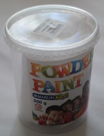 Marlin Kids Powder Paint 500g Bucket - White