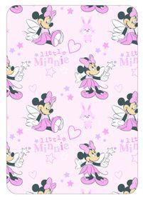 Disney - Minnie Mouse Coral Fleece Throw
