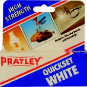 Pratley - Quickset 40ml Glue - White