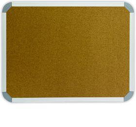 Parrot Info Board Aluminium Frame - Cork (1200 x 1000mm)