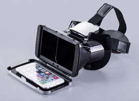 Tuff-Luv Universal 3D Virtual Reality Glasses for iPhone/Android 4-6 devices - White