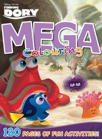 Finding Dory 120 Page Mega Colour & Activity Book