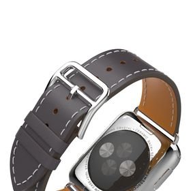 Tek88 Apple Watch 42mm Hermes Graphite Leather Single Tour