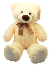 Grafix Plush Bear 40cm - Cream