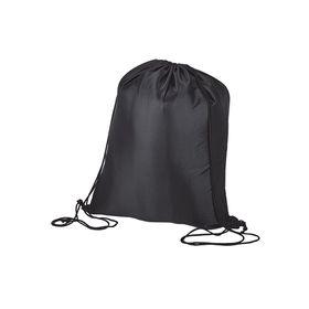 Eco Lightweight Drawstring Bag - Black