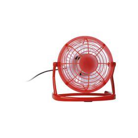 Eco Usb Desk Fan - Red