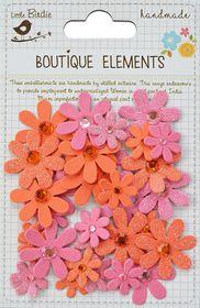 Little Birdie Sparkle Florettes - Scarlet Blush