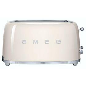 Smeg - 4 Slice Toaster - Vintage Cream