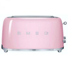 Smeg - 4 Slice Toaster - Pastel Pink
