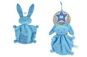 Lief! - Doudou 21cm Rabbit - Blue