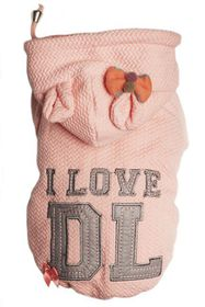 Dog's Life - I Love DL Hoodie - Pink