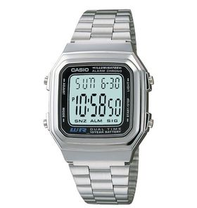 Casio Mens A178WA-1AUDF Illuminator Retro Digital Watch