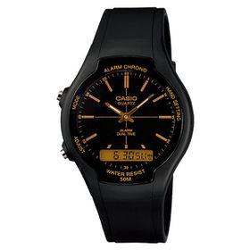 Casio Mens AW-90H-9EVDF Anadigital Watch