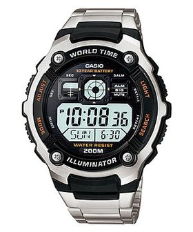 Casio Mens AE-2000WD-1AVDF World Time Digital Watch