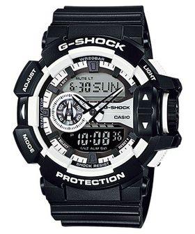 Casio Mens GA-400-1BDR G-Shock Anadigital Watch
