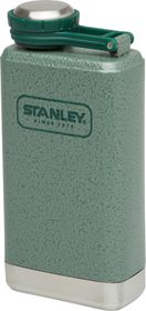 Stanley - Adventure 148ml Pocket Flask - Green & Steel