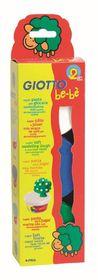 Giotto Be-Be Super Modelling Dough - 3x 100g Pack (White, Dark Blue, Dark Green)
