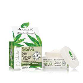 Dr.Organic Hemp Oil 24Hr Rescue Cream -50ml