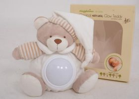 Snuggletime - Classical Plush Natural Glow Teddy - Beige