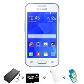 Samsung Trend Neo 4GB 3G White - Bundle 2 incl. R1500 airtime + 1.2GB Starter Pack + Accessories