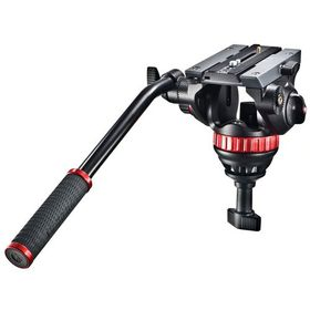 Manfrotto MVH502A Fluid Video Head M-Size - 75mm Half Ball