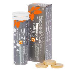 Biobalance Immunova Colds & Flu with Vitamin C - 12s