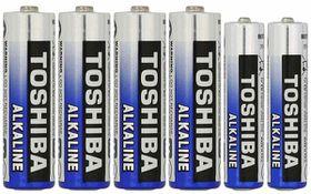 Toshiba Batteries - AA x 4 & AAA x 2
