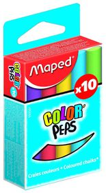 Maped Color'Peps Chalk - 10 Pieces