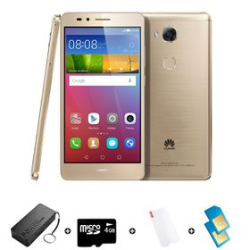 Huawei GR5 16GB LTE Gold - Bundle 4 incl. R600 Airtime + 1.2GB Starter Pack + Power Bank + SD Card + Screen Protector