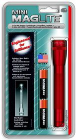 Maglite - AA Holster Combo Pack - Red