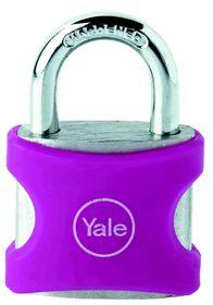 Yale - Aluminium Padlock 38mm - Pink