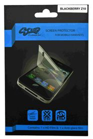 Scoop Screen Protector for Blackberry Z10 Twin Pack