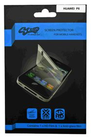 Scoop Screen Protector for Huawei P8 Twin Pack