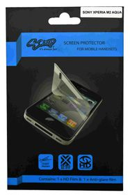 Scoop Screen Protector for Sony Xperia M2 Aqua Twin Pack