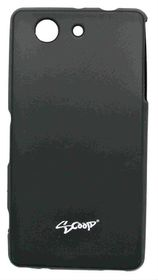 Scoop Progel Sony Xperia Z3 Mini/Compact Case with Screen Protector (D5833) - Black